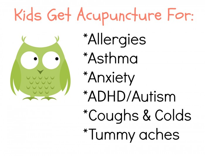 Kids Get Acupuncture For 1