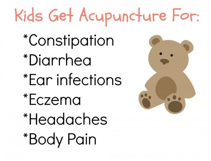 Kids Get Acupuncture For 2