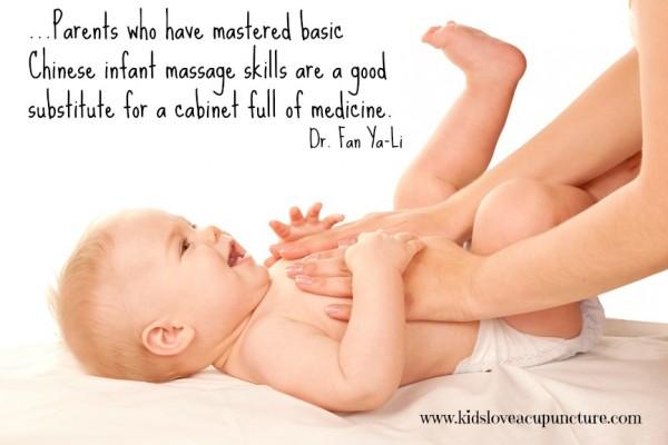 Baby Massage Quote