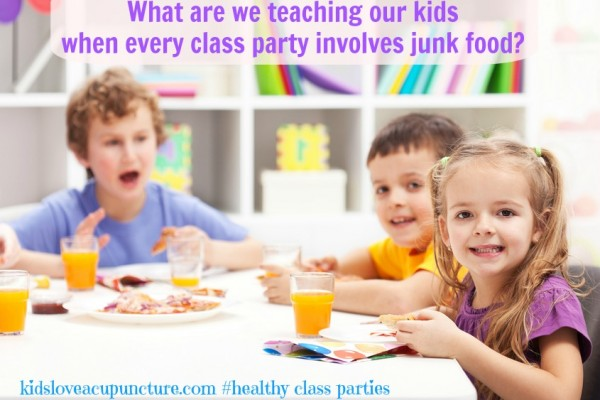 Who Else is Tired of Junk Food in the Classroom?